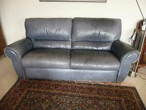 Lounge, leather 3 seater Hawthorn Mitcham Area Preview