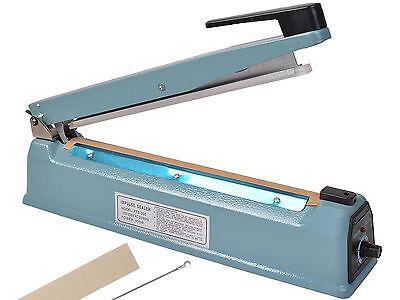 12 Heat Sealing Hand Impulse Sealer Machine Poly Free Element Plastic Sealer