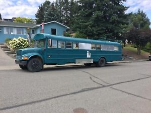 School Bus Conversion/RV/Tiny Home for sale