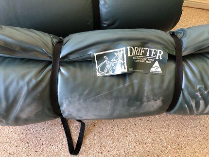 Drifter self-inflating camp mattresses