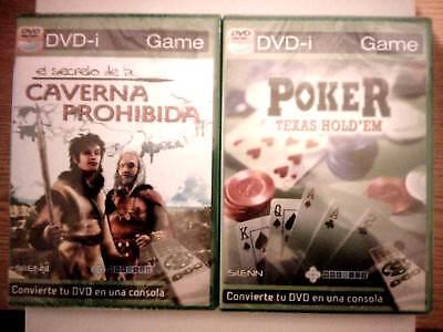 LOTE DE 2 VIDEO JUEGOS DVD-I GAME (CONVIERTE TU DVD EN UNA CONSOLA) LEER DESCRIP