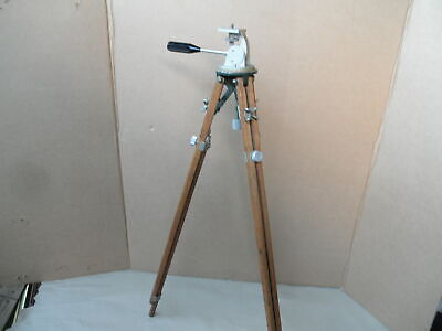 Used, OTTO ENGINEERING INGLWOOD CA ANTIQUE CAMERA TRIPOD GRAFLEX GRAPHIC PAN TILT HEAD for sale  Shipping to India