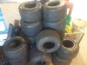 Gocart tyres 4 sets , l wet weather set  $20 a set Penrith Penrith Area Preview