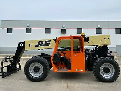 2014 Jlg G9-43a Telehandler Telescopic Forklift 9000lb Lift 43ft Lull Reach