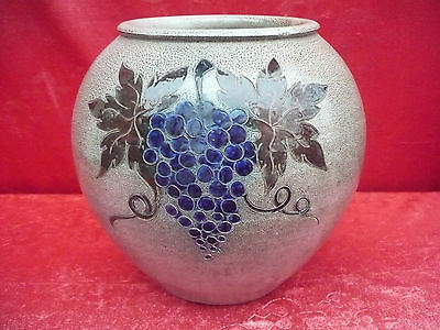 Beautiful, Old Decorative Vase __ Wine __ B.Böckenhoff __