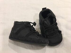Mexx Black Dress Shoes. Size 6 months