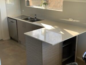 Second hand Freedom Furniture Kitchen - with Ceasarstone benchtop