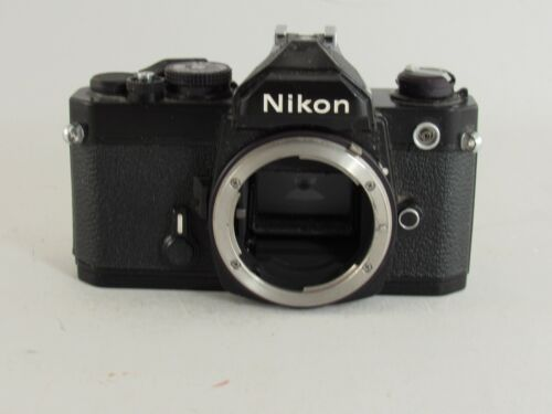 Nikon FM Black SLR 35mm Film Camera Body Only Japan