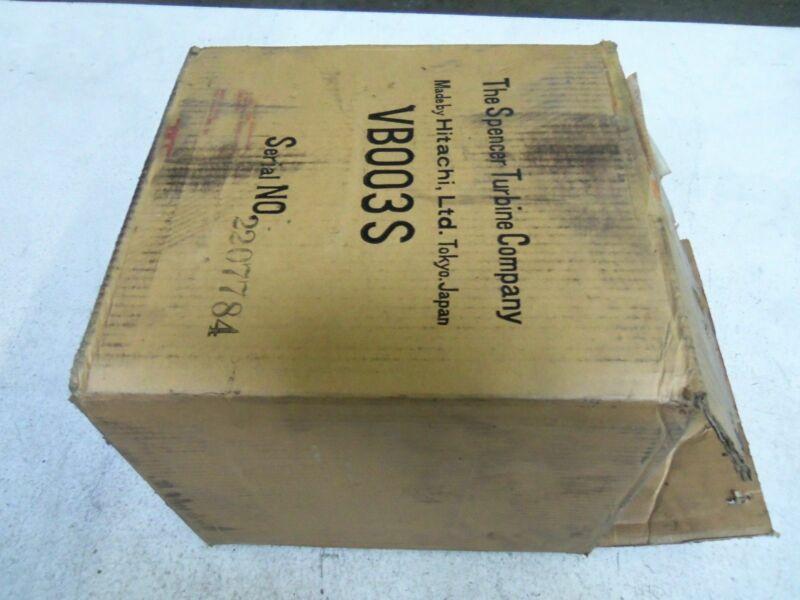 SPENCER VB-003SE-U BLOWER *NEW IN BOX*