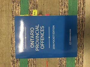 Ontario Provincial Offences Textbook