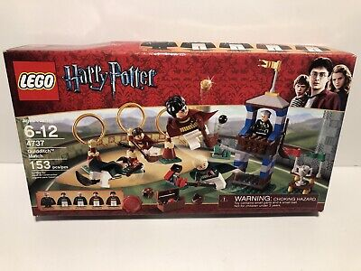 LEGO QUIDDITCH MATCH Harry Potter Set 4737  Factory Sealed NEW