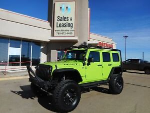 2013 Jeep WRANGLER UNLIMITED Sahara LIFTED/BEAST NO CREDIT CHECK