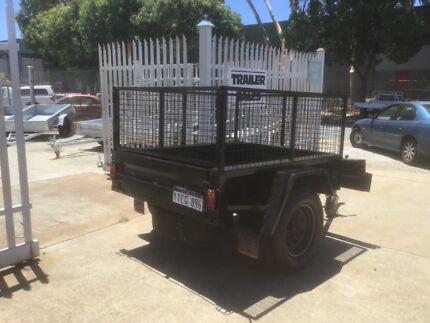6x4 Off-road Box Trailer Malaga Swan Area Preview