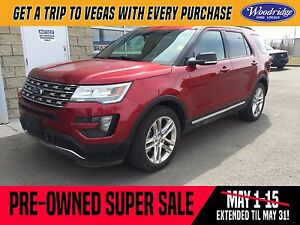 2016 Ford Explorer XLT PRE-OWNED SUPER SALE ON NOW! LEATHER, NAV