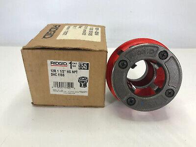 Rigid 37545 12-r Pipe Threader Die Head 1-12 Hs Npt Dhc Fss New In Box