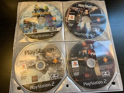 OFFICIAL PLAYSTATION MAGAZINE DEMO DISCS LOT OF 10 - FREE SHIPPING!