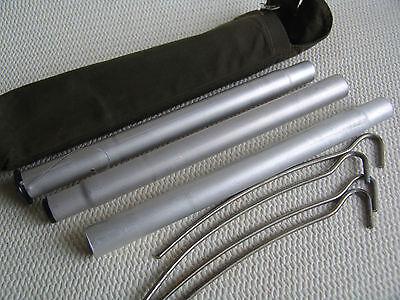 Zeltstange Zeltbesteck für  Zeltbahn, Zeltplane. Länge 72 cm. Palatka.