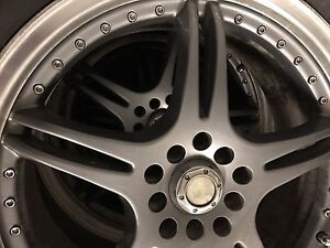 """WTS 18"""" Rims with 225/60/18 Tires"""