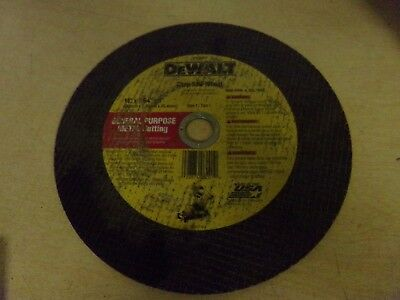 New Dewalt Dw8501 Chop Saw Wheel 14 X 761 X 1 General Purpose Metal Cutting