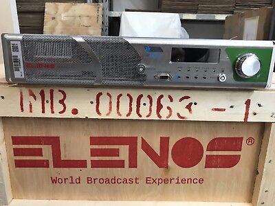 ELENOS BROADCAST FM TRANSMITTER EXICITER ETG 1000 W INDIUM EMISORAS MPX usato  Italia