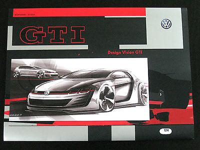 VW Golf 7 Vision 1+2+3+4+5+6 GTI Wörthersee Treffen 2013 Presse/Launch Media Kit