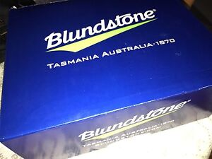 Blundstone black zip side work boots size 9.5 St Marys Penrith Area Preview