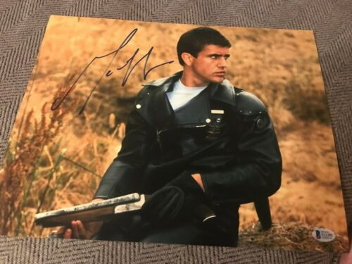 MEL GIBSON SIGNED AUTOGRAPH 11x14 PHOTO MAD MAX BRAVEHEART IN PERSON BECKETT BAS