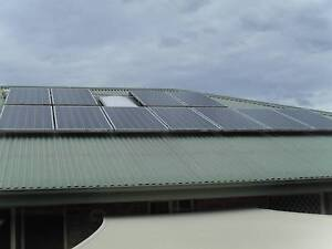 Solar system with inverter,cabling,racking ,2.1 kw Belmont North Lake Macquarie Area Preview