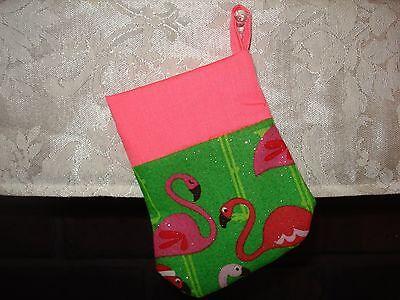 Flamingo Mini Christmas Stocking - Mini Christmas Stocking