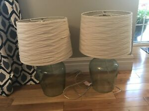 Set of lamps -2 ft tall