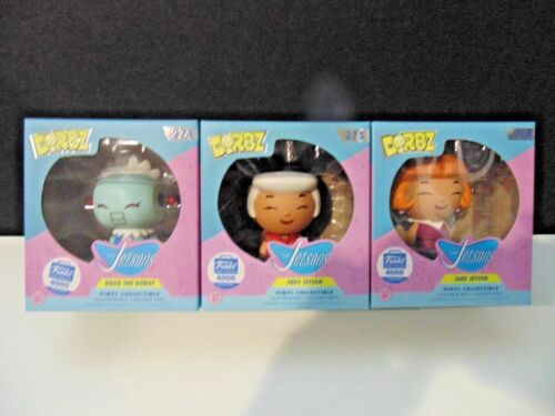 Dorbz: The Jetsons - Rosie, Jane & Judy, Limited to 4,000, Funko Shop Exclusive!