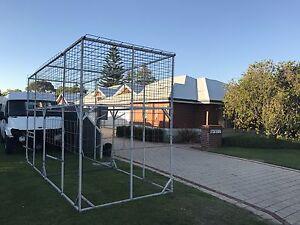 Huge Custom Tandem Trailer Cage! 4.9m x 1.75m x 2.55m Mandurah Mandurah Area Preview