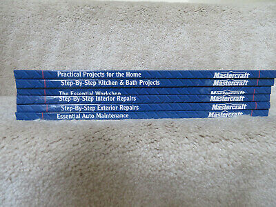 Mastercraft Do-It-Yourself Lot of 6 Hardcover Books