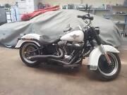 Harley davidson fatboy Adelaide CBD Adelaide City Preview