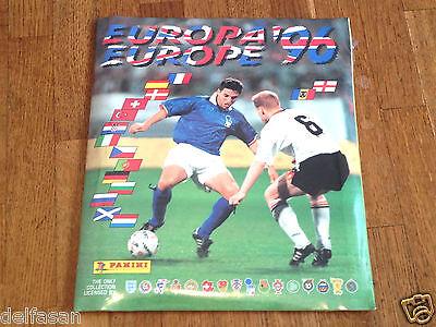 Album figurine PANINI EURO 96 SIGILLATO SEALED complete set sticker card em...