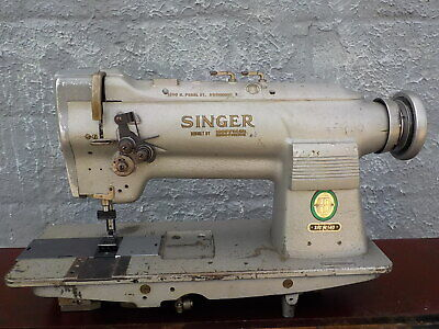 Industrial Sewing Machine Singer 212-140 Two Needle -leather