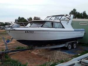 Bayliner Saratoga 25ft v8 boat $12500, may swap classic car, bike Gawler Gawler Area Preview