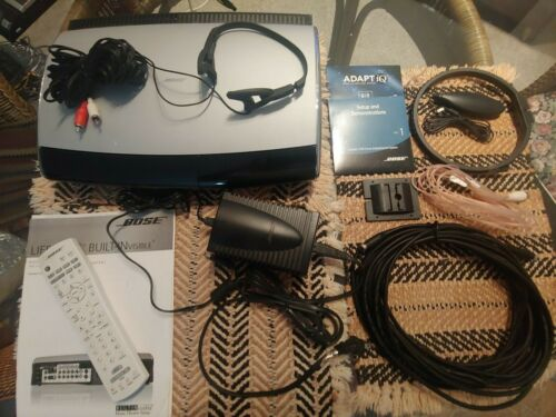 Bose AV38 Lifestyle Media Center CD/DVD Power Supply Manual & Accessories