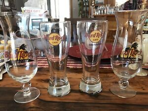 Hard Rock Cafe Collectable Glasses