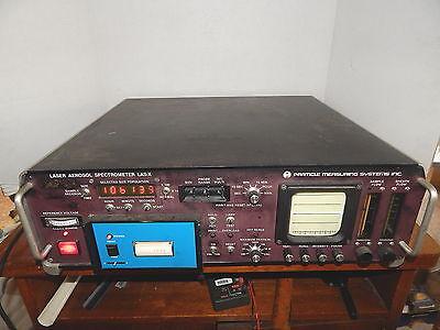 Particle Measuring Systems Las-x Laser Aerosol Spectrometer Pms