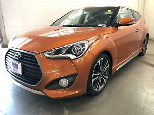 2016 Hyundai Veloster Turbo - LOW KM! LEATHER INT! HEATED SEATS!