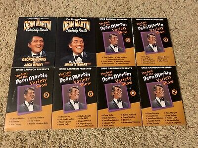 The Best Of The Dean Martin Variety Show 8 DVD LOT VOL 2 5 6 9 10 11 +