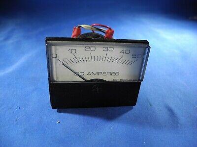 Modutec Meter Panel 0-50 Dc Amperes