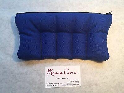 Messina Covers 5 Five Trumpet Mouthpiece Case Pouch Bag Blue Royal