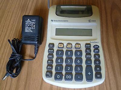 Calcolatrice Stampante Texas Instruments SuperView