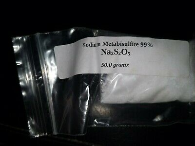 Sodium Metabisulfite 50g