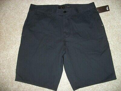 QUIKSILVER New NWT Mens Casual Walk Shorts Straight Fit Black - Quiksilver Walkshorts