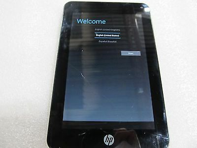 HP Slate 7 Plus 4200US 8GB, Wi-Fi, 7in - Silver Cracked Screen (33043)