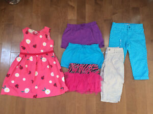 Girls size 7 summer clothes
