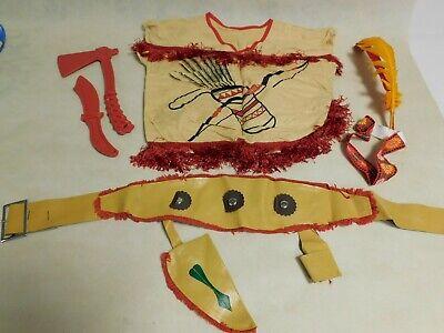 Indianer Kostüm für Kinder, Gr. 110, aus DDR Zeiten